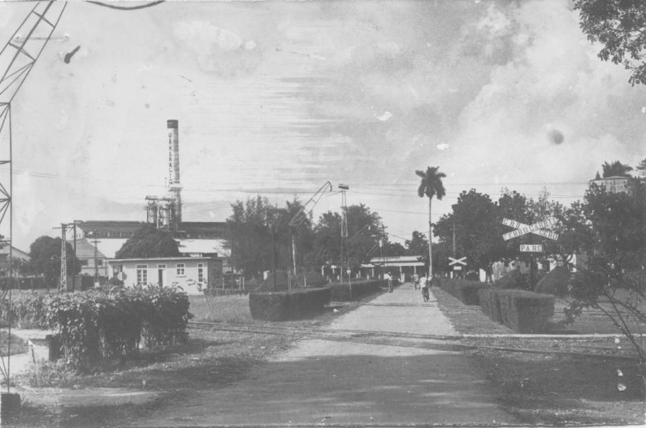 Central Mercedita (luego Gregorio Arlee Manalich) que fuera el centro de la vida económica de Melena del Sur.