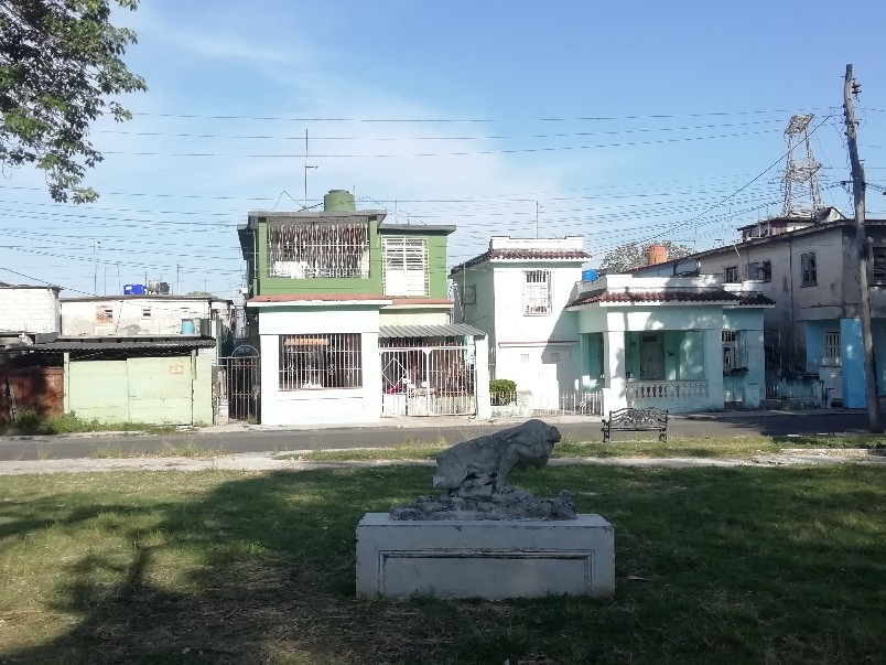 Escultura Parque Palatino Cerro