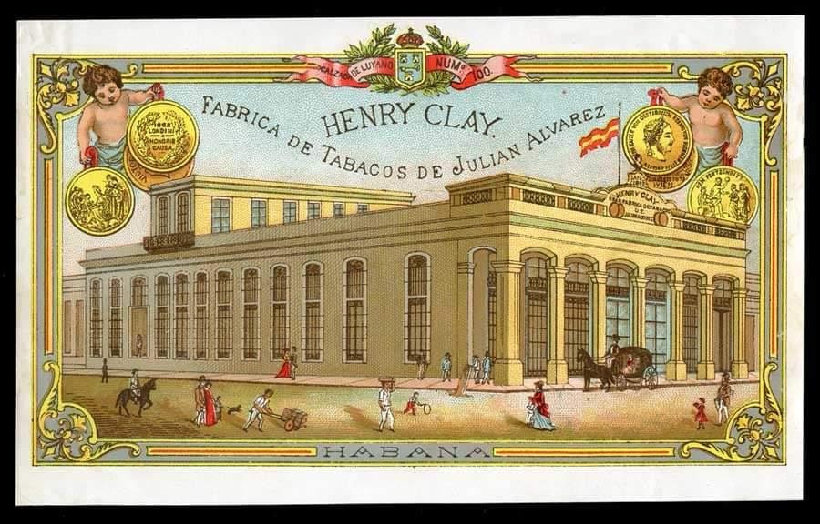 Fábrica de los tabacos Henry Clay en el barrio de Luyanó