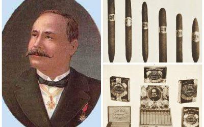 Julián Álvarez en la impronta del tabaco cubano