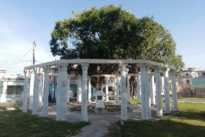Parque de Palatino - Monumento a Martí