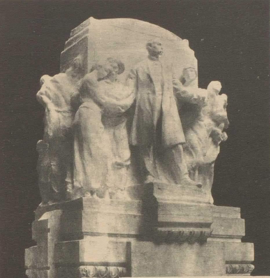 Monumento a Martí de Domenico Boni (boceto)