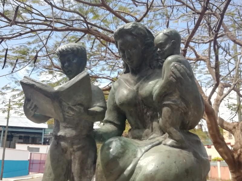 Monumento a las Madres en el Parque de Palatino