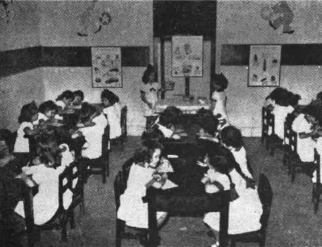 Salón de primer año del Colegio Estrella de la Víbora