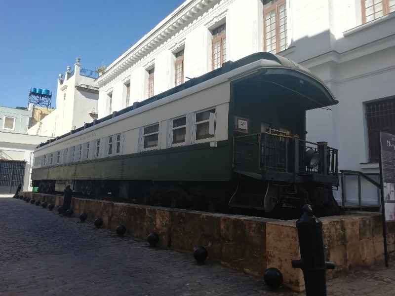 Vagon Presidencial Habana Churruca Cuba