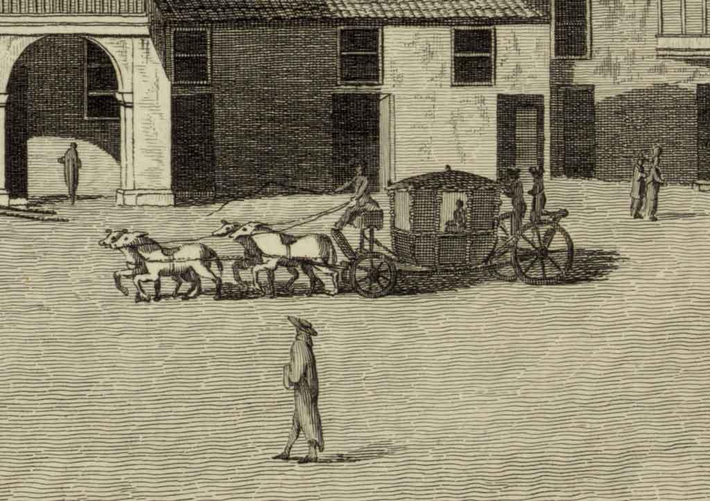 carruaje siglo XVIII