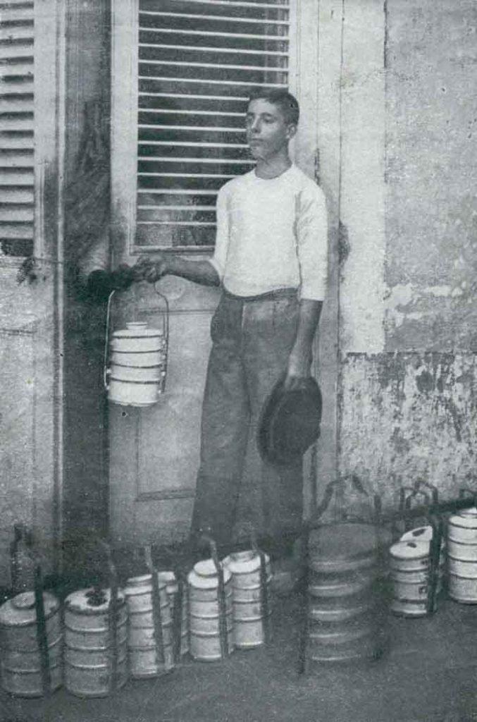 cartenero vendedor de desayunos