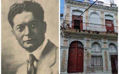 Aquí vivió Domenico Boni, creador del monumento a Maceo