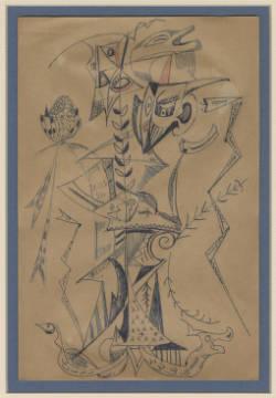 dibujo de lydia cabrera