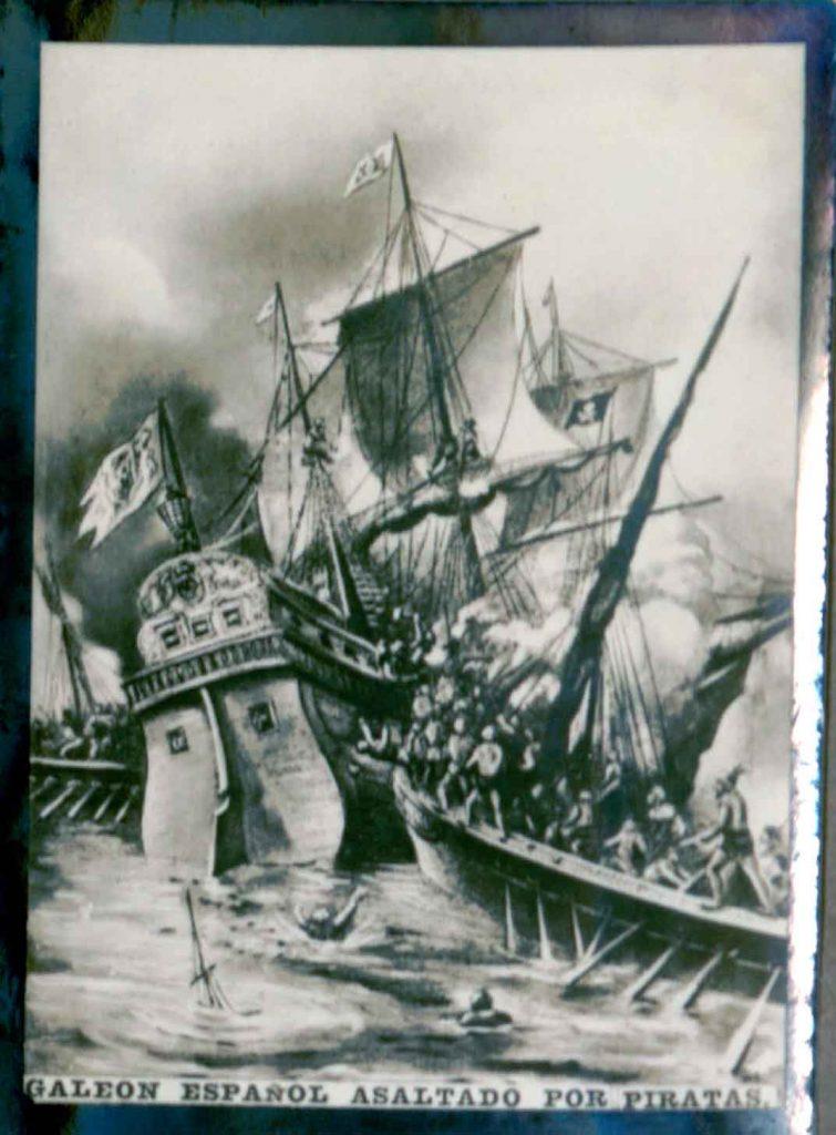 don Alonso desapareció en el mar en 1678 antes de tomar posesión como Capitán General de la Isla de Cuba