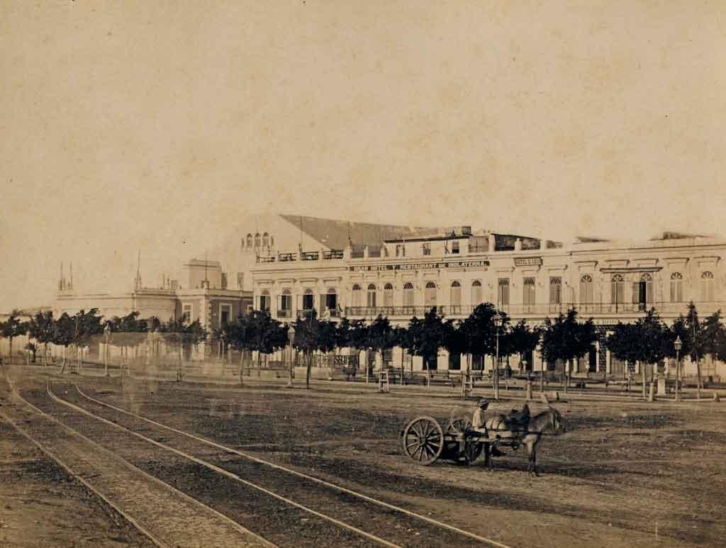 Parque Isabel II, actual Parque Central