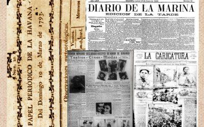 La prensa en La Habana de 1914 – Directorio