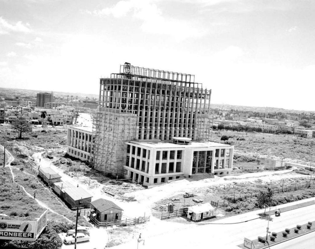 Biblioteca Nacional de Cuba en construccion