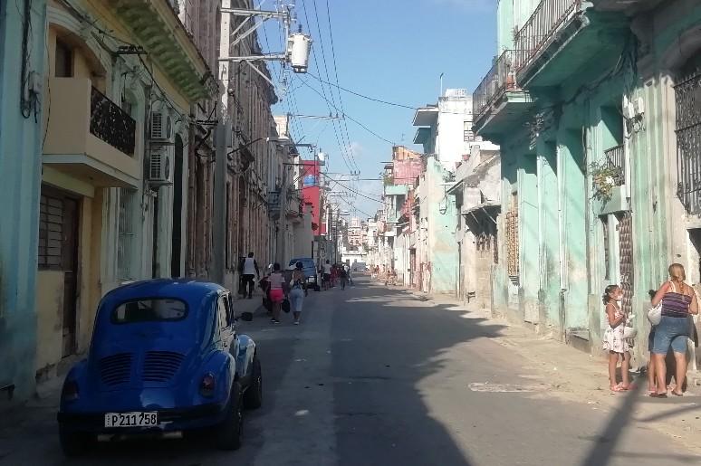 Calle Jesus Peregrino Centro Habana