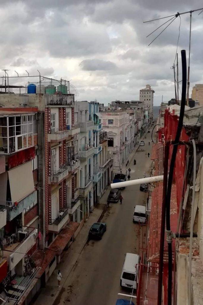 La calle Manrique en Centro Habana