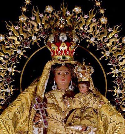 Corona de la Caridad del Cobre, Patrona de Cuba, realizada por la joyería La Estrella de Italia que luego perteneciera Armando Cienfuegos y su hermano Sandalio.