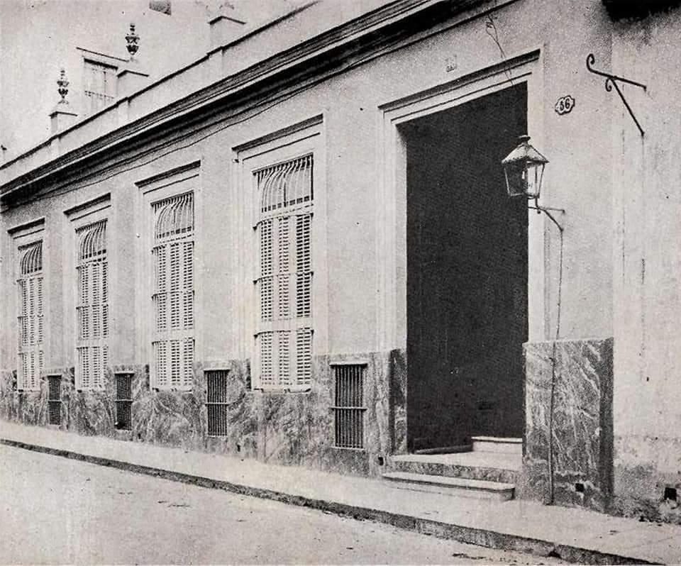 Casa de Antonio Bachiller y Morales Calle San Miguel