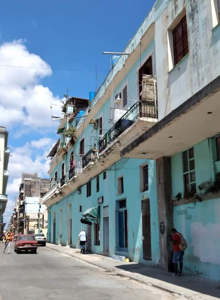 Casa de Antonio Bachiller y Morales Calle San Miguel Habana