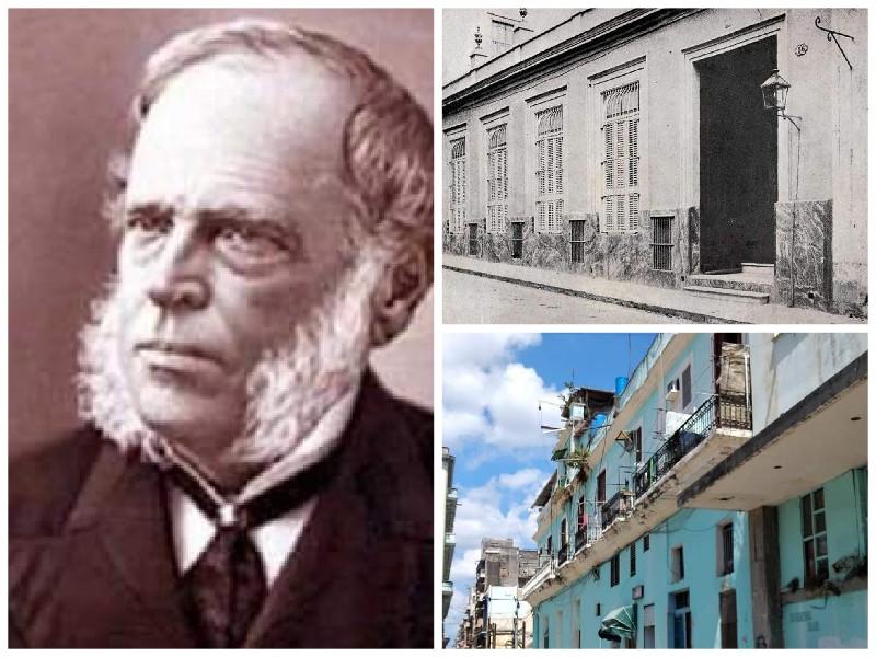 Casa de Antonio Bachiller y Morales Habana