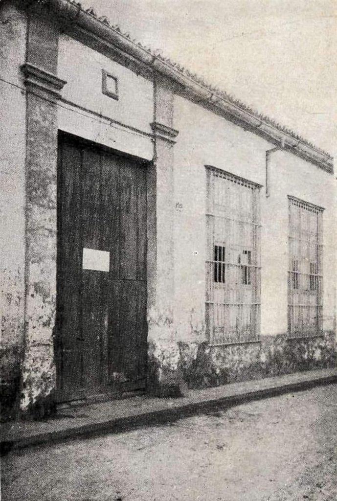Casa natal de Antonio Bachiller y Morales Calle Habana