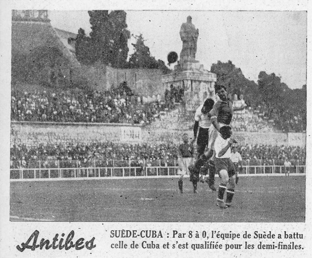 Cuba - Suecia Copa Mundial 1938