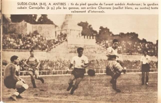 Cuba - Suecia Copa Mundial dw Fútbol 1938