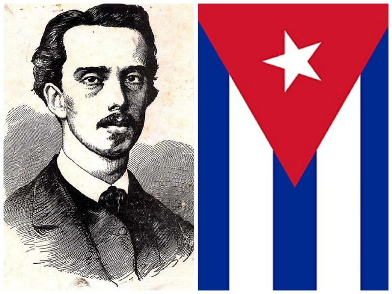 Ignacio Agramonte Loynaz Bandera cubana