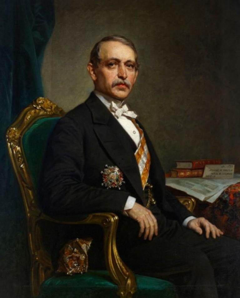 Julián Zulueta y Amondo, Marqués de Álava en cuyo honor se le dio el nombre de calle Zulueta a la actual Agramonte.