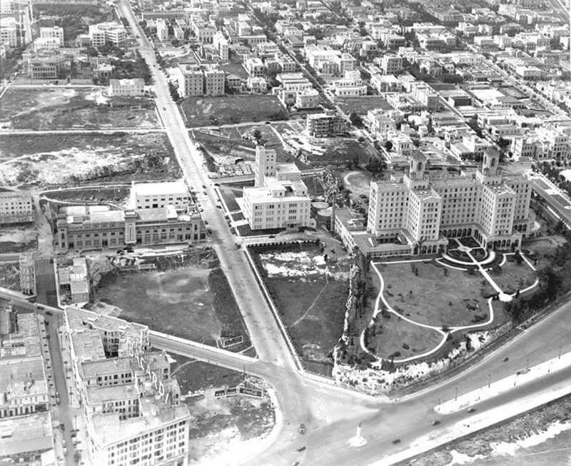 La Rampa del Vedado en la década de 1940
