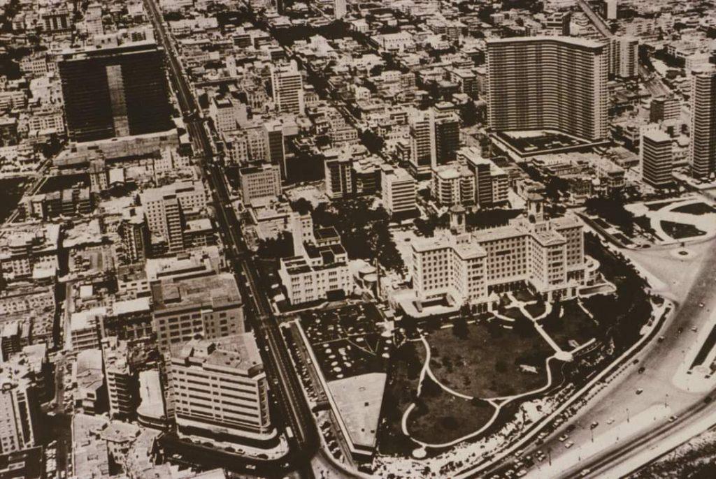 La Rampa del Vedado alrededor de 1957