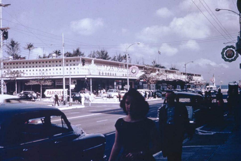 La Rampa, Vedado, años 50