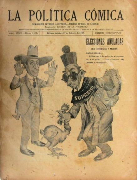 La Política Cómica. Revistas de la Habana