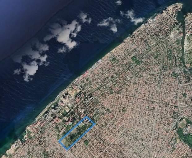 Monte Barreto Playa Imagen Satelite