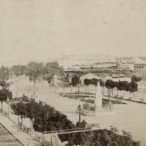 Paseo del Prado o de Isabel II Siglo XIX