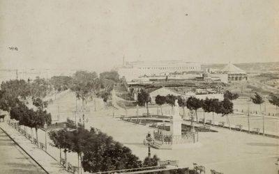 El Paseo del Prado o de Isabel II en 186? (Fotos con historia)