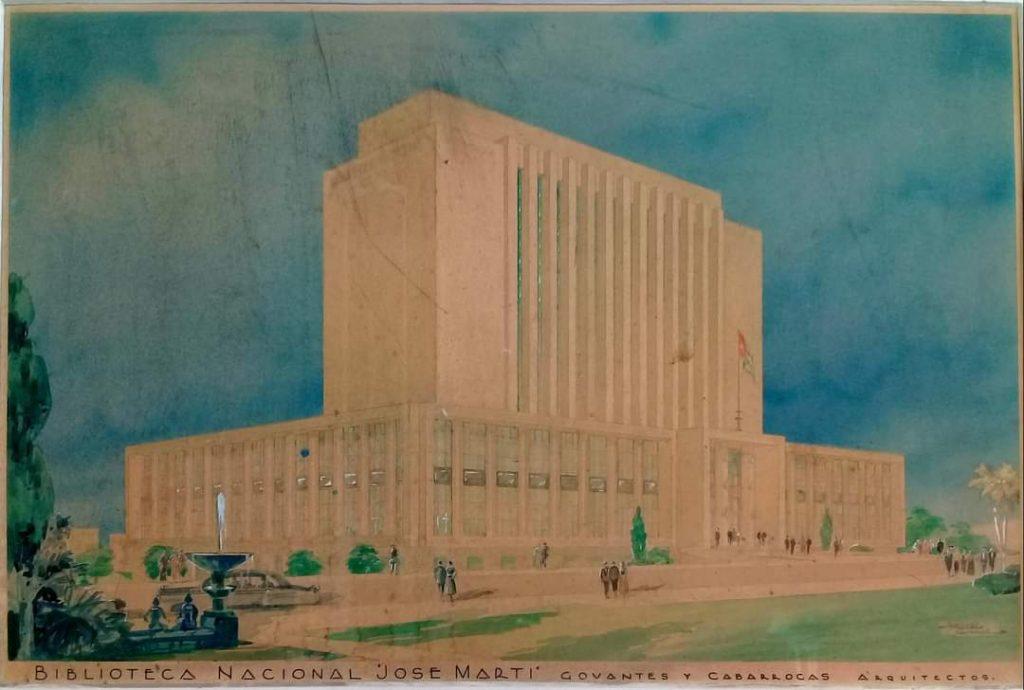 Proyecto de la Biblioteca Nacional de Cuba