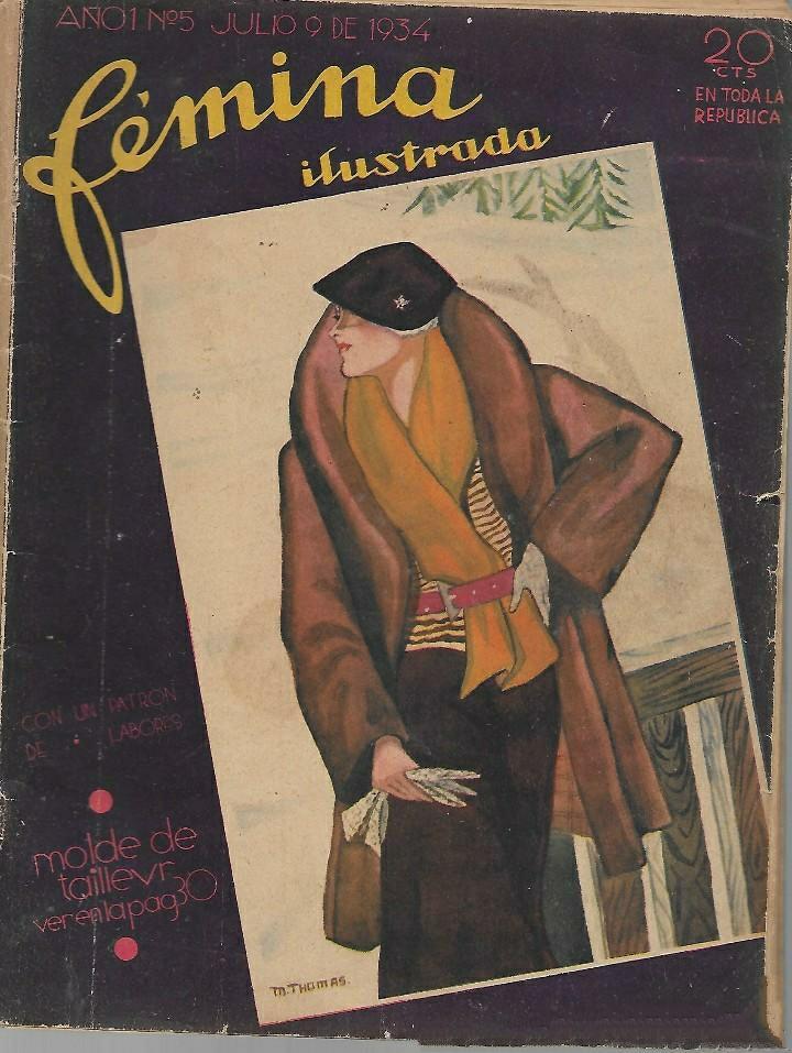 Revista Fémina. Revistas de la Habana