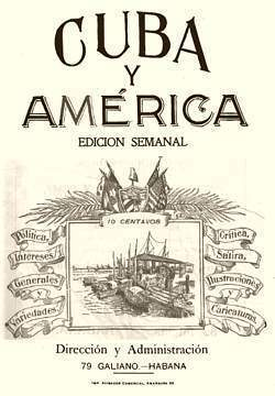 Revista Cuba y América. Revistas de la Habana
