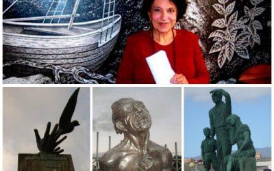 Thelvia Marín y las esculturas viajeras