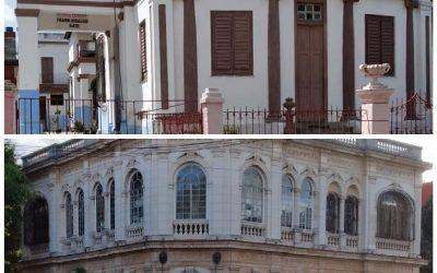 Vedado soberbio… Casa de José Tarajano y Colegio Columbus
