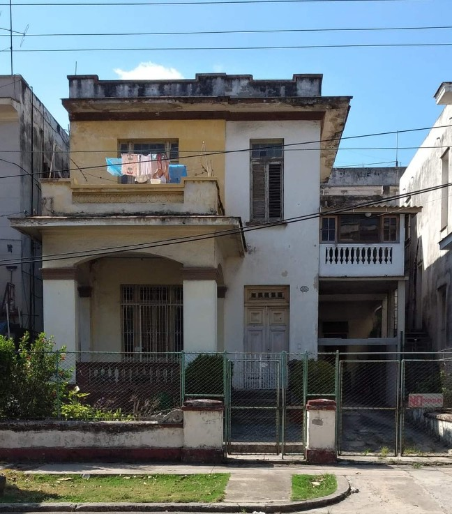 Estado actual de la casa del Vedado en la que se produjo el secuestro de Eutimio Falla Bonet