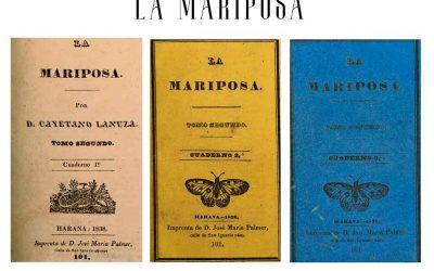 Revista La Mariposa (Vieja prensa de La Habana)
