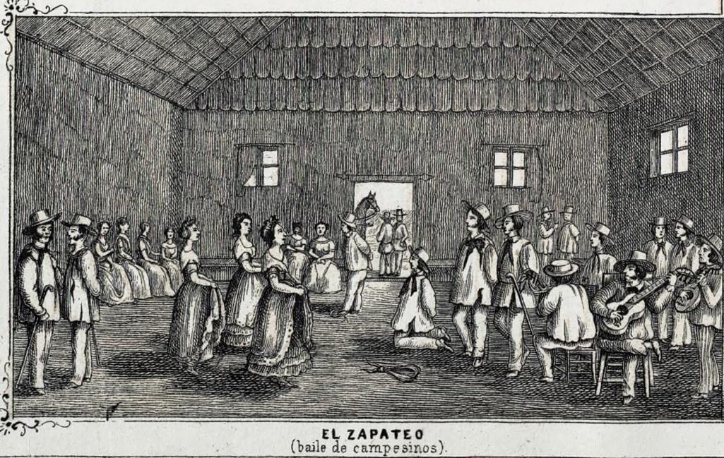 zapateo baile campesino