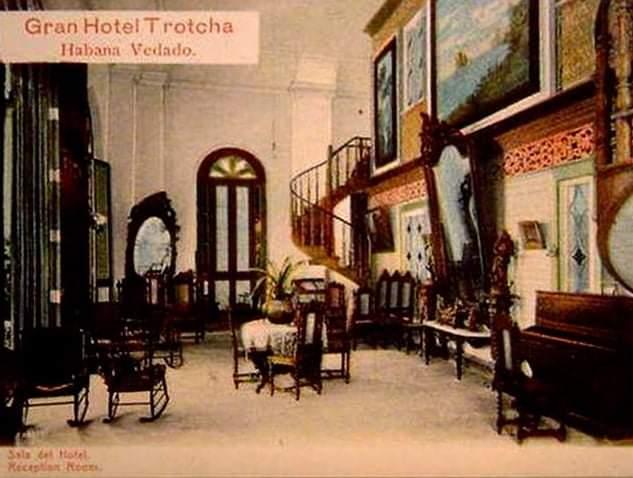 Gran Hotel Trotcha Vedado Living Room 1