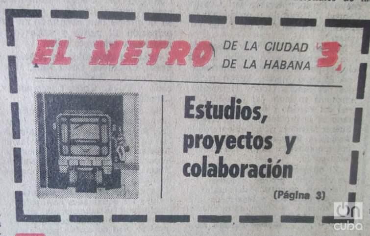 Metro de La Habana Granma