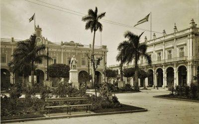 La Plaza de Armas de La Habana a inicios del siglo XX