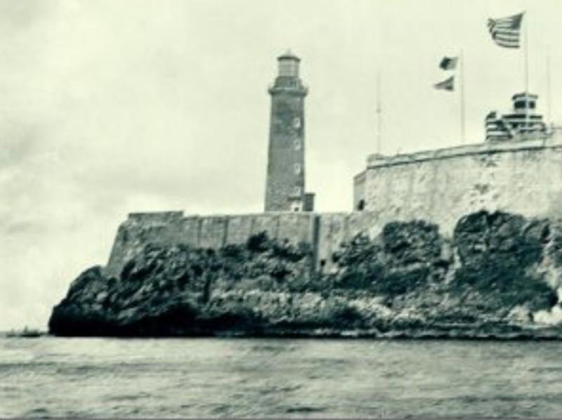 """La bandera norteamericana en el Morro inspiró a Bonifacio Byrne su poema """"Mi bandera"""""""