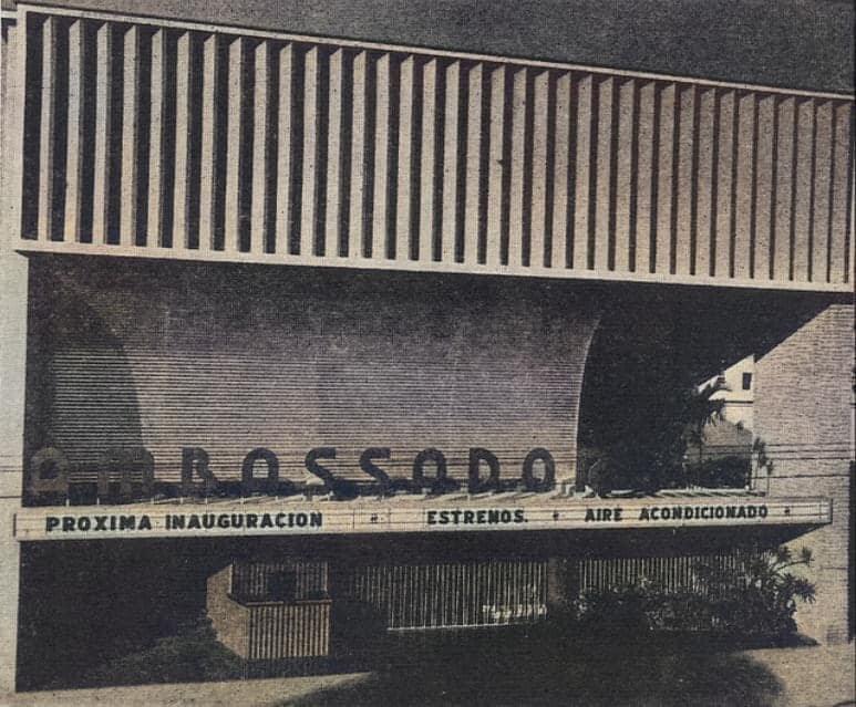 Cine Ambassador 1955