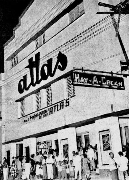 Cine Atlas, Calzada de Luyanó, 10 de Octubre, Habana