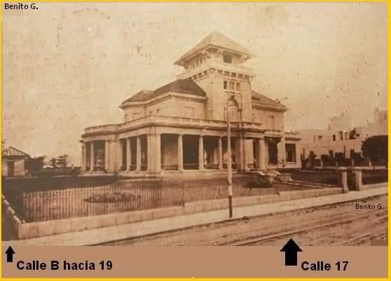 Antiguo Palacete de los Marqueses de Pinar del Río en 17 y B